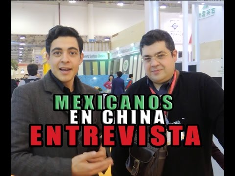 Latinos en China | Rafael | Mexicanos en China | Xiamen Stone Fair