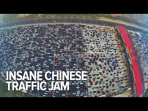 Yep, China conoció el mayor atasco de tráfico del planeta