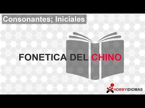 Iniciales en el pīnyīn - Fonética del Chino mandarín