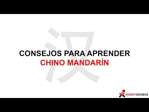 Consejos para prender Chino mandarín