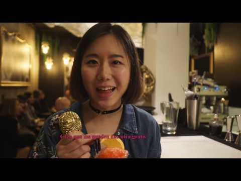 Jiaying en Madrid - Visita al barrio de las letras
