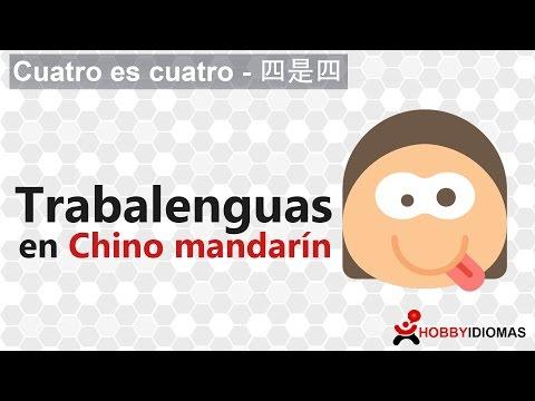 """四是四"" - Trabalenguas en chino mandarín."