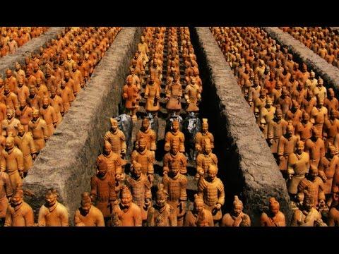 Los guerreros desnudos de Xian - Documental