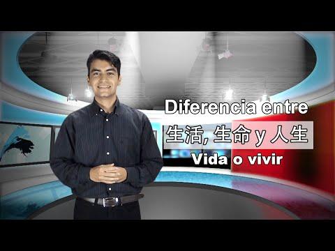 Diferencias entre 生活, 生命  y 人生