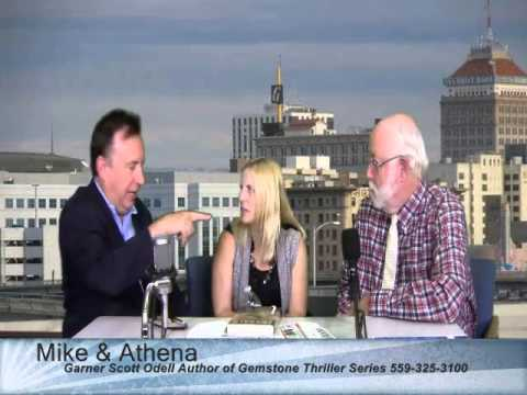 Garner Scott Odell, Author of the Gemstone Thriller Series, on Mike & Athena Live