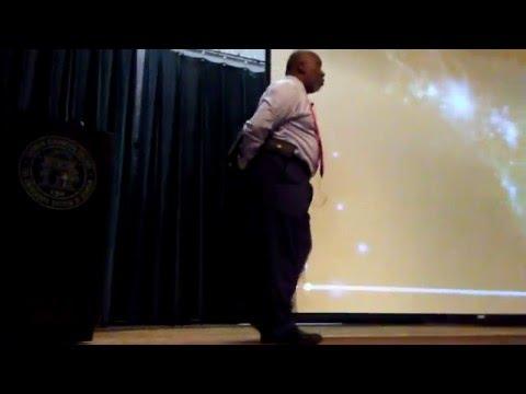 JE Thompson's Atlanta Writers Club Presentation!