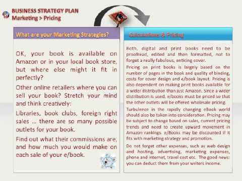 iGO eBooks } Business Strategy Plan for Authors & Publishers