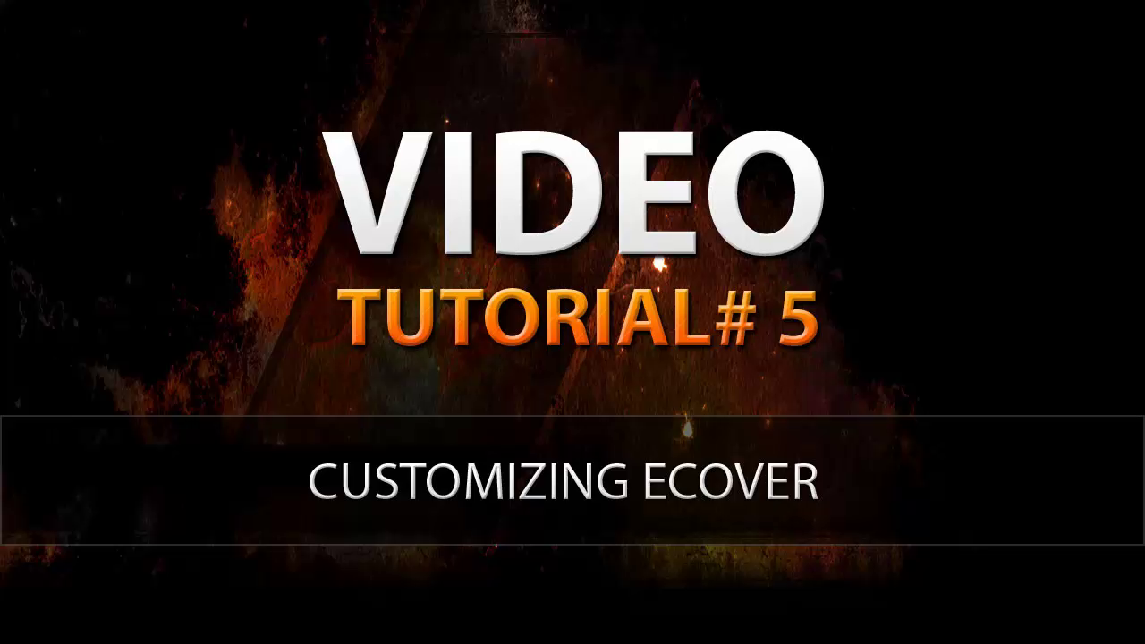 Video_05_CustomizingEcover