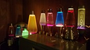 Collection of lava lamps