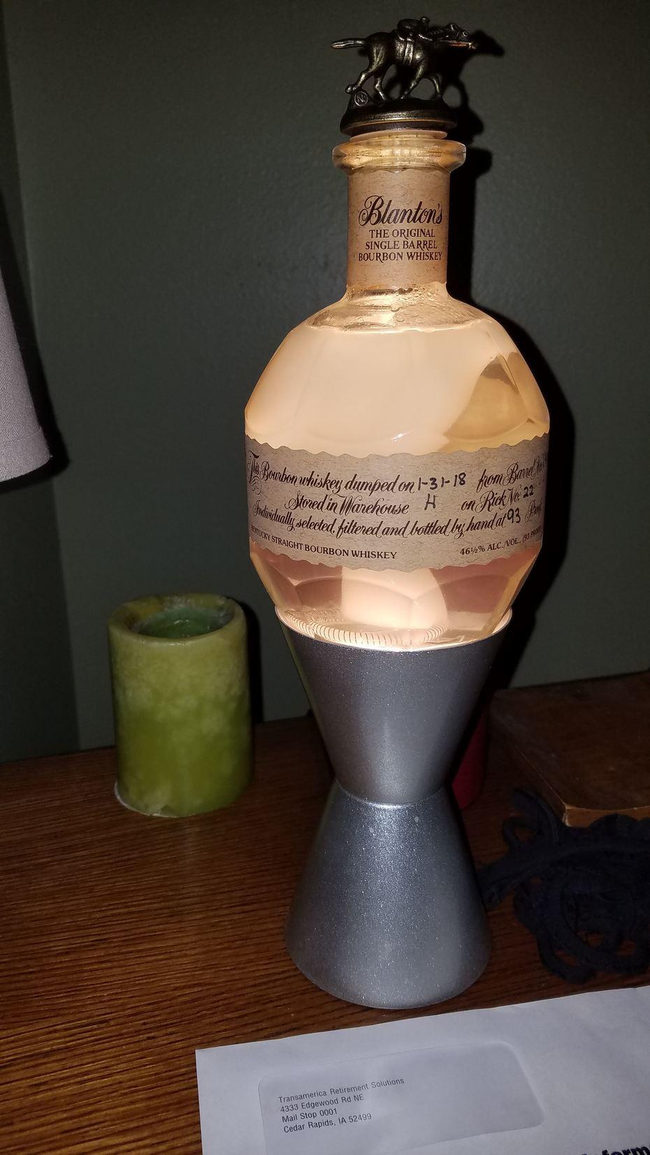 Homemade Blanton's Lava Lamp 3