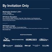 Digital Dealer VIP Dinner Reception