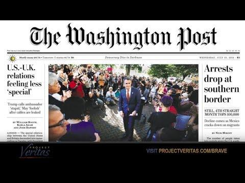 UPDATE: Washington Post Prints Correction After Falsely Claiming Veritas Videos Fake