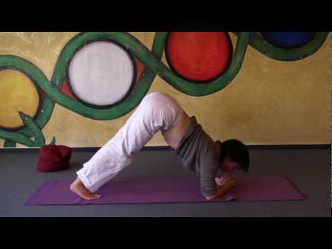 Dolphin - preparing Yoga headstand by strengthening your arms and shoulders