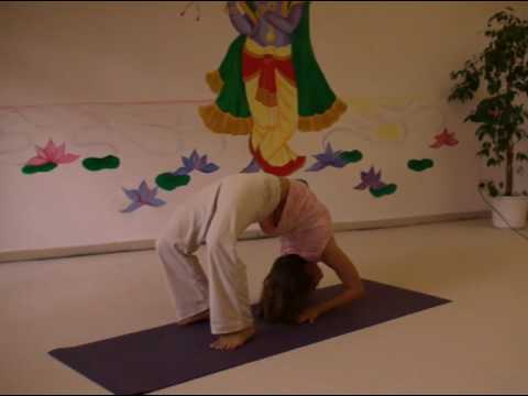 Advanced Yoga Backward Bends with Carlotta, part 1