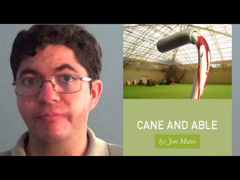 'Cane and Able'  by Jonathan Matos   Book Launch Trailer