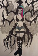 (Goth Creepypasta) Blacklite Bonnie