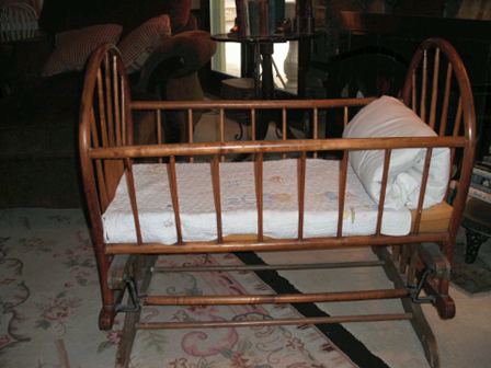 The Sisterhood Of The Traveling Baby Cradle