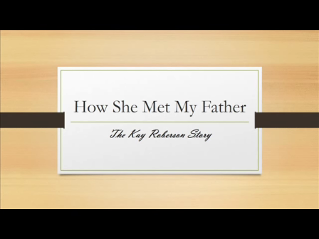 How She Met My Father