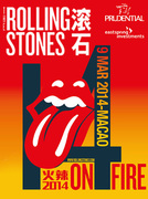 THE ROLLING STONES 14 ON FIRE (Macao)