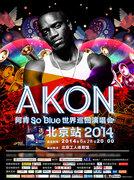 Akon So Blue 2014 World Tour in Beijing