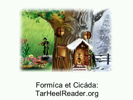 Fabella (7): Formica et Cicada