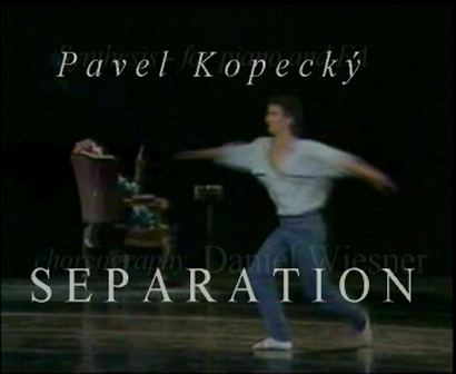 SEPARATION - ballet (Synthesis for piano and EA)  -  excerpt