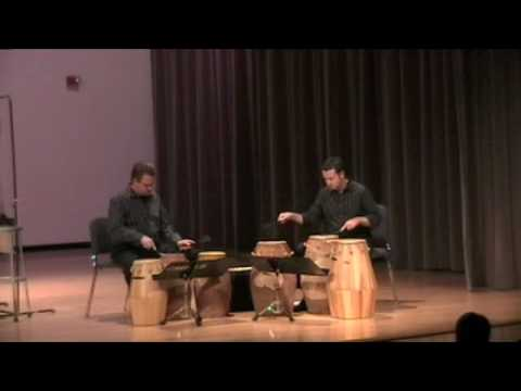 Tribute (African Drum Duo) by Dave Gerhart - Mvt. 2 & 3