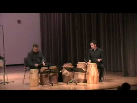 Tribute (African Drum Duo) by Dave Gerhart - Mvt. 1