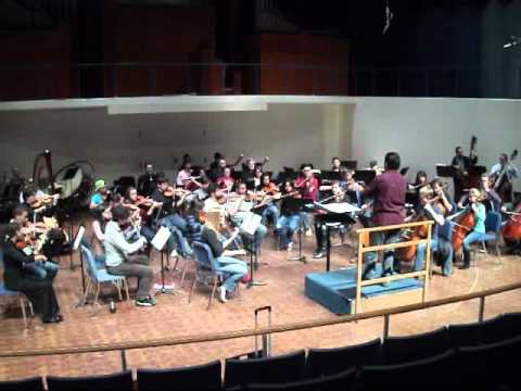 La Fille aux Chevuex de lin for Orchestra arranged by Tyler Hughes