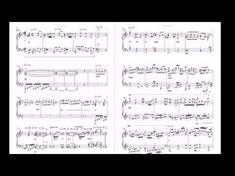 Al Johnston, Piano Sonata 5, 1st mvt