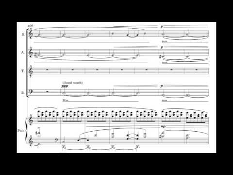 Evening Star (SATB + Piano)