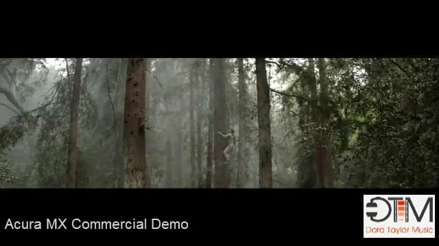 Dara Taylor Film Music Demo Reel - Acura Demo