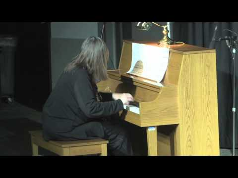 stone & feather by Robert J. Martin-pianist Shirley Meyer Blankenship