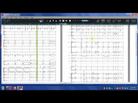 Ghostly Waltz No 5--orchestral score