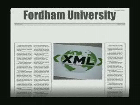 XML Superstar hits Fordham