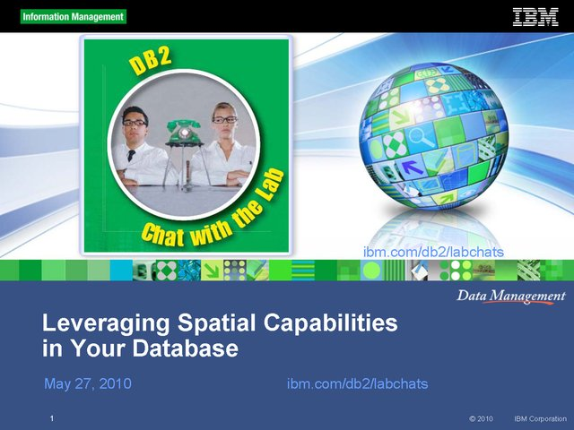 Leveraging Spatial Capabilities in Your database