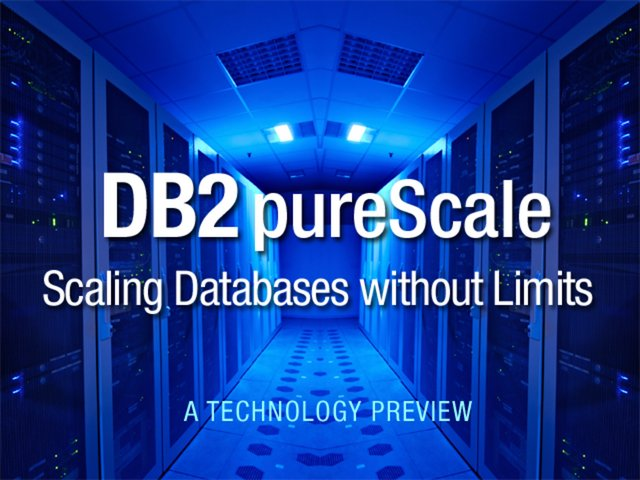 DB2 pureScale: A Technology Preview