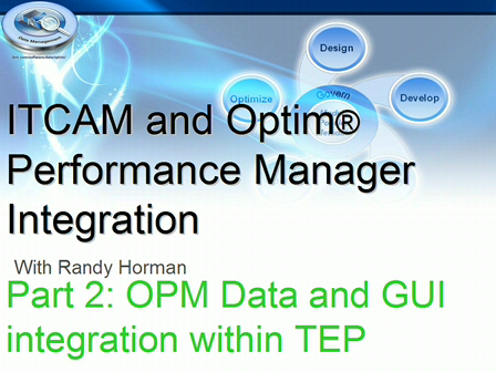 OPM-ITCAM Integration Overview-Part 2