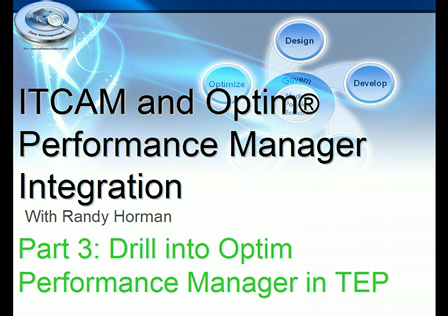 OPM-ITCAM Integration Overview-Part 3