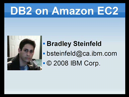 DB2 Express-C on Amazon EC2