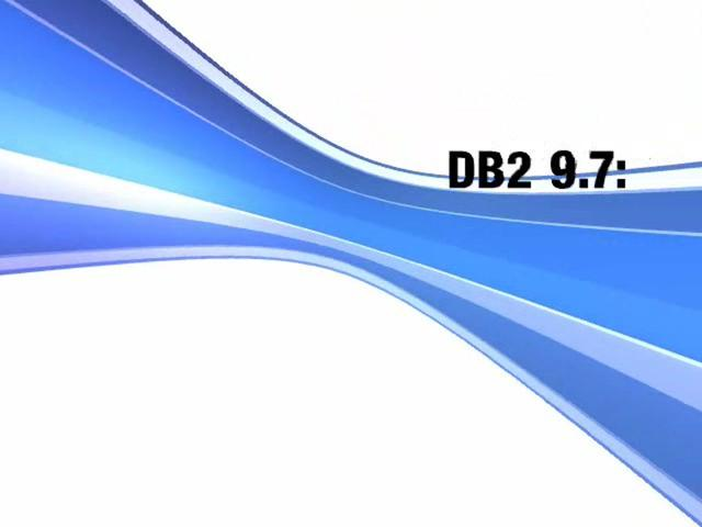 DB2 9.7: Moving to DB2 is Easy - See updated link in description