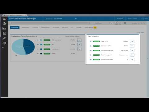 Data Server Manager: Light-weight real time DB2 administration and performance monitoring