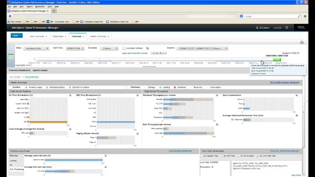 InfoSphere Optim Performance Manager Overview