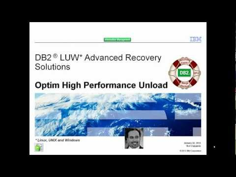 InfoSphere Optim High Performance Unload for DB2 for LUW- Part 3