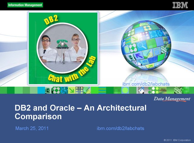 DB2 and Oracle - An Architectural Comparison