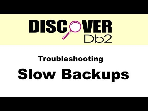 (Ep. 13) - Troubleshooting Slow Backups