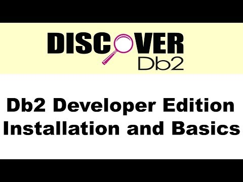 (Ep. 01) - Db2 Developer Ed. Installation and Basics