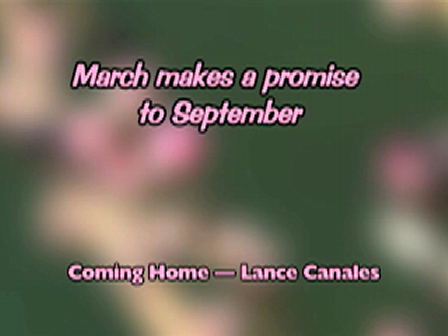 March makes a promise to September