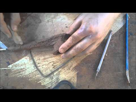 How to Make a Clay Pipe - Freehand