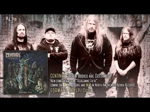 CENTINEX - When Bodies Are Deformed (new song 2014)